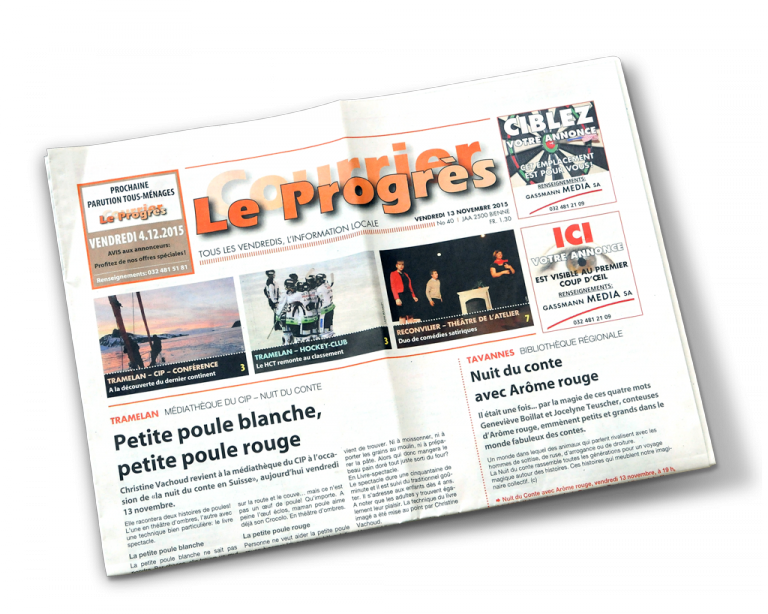 Gassmann Media Produkt Le Progrès/Courrier